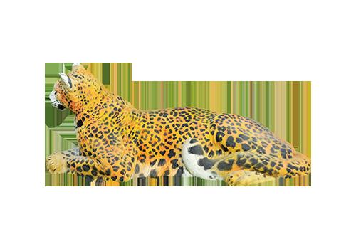 Cible 3D Natur Foam panthère à Roche sur Linotte