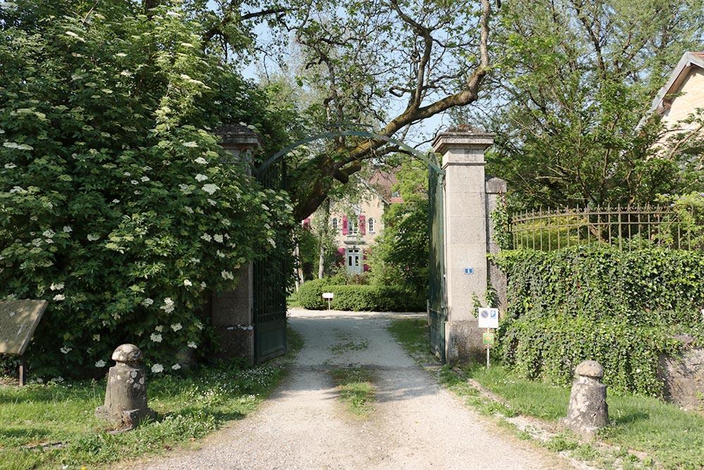 Le Château de la Linotte en Bourgogne Franche-Comté - Entrée