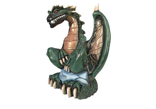 Cibles tir à l'arc MMCrafts au Château de la Linotte - dragon vert