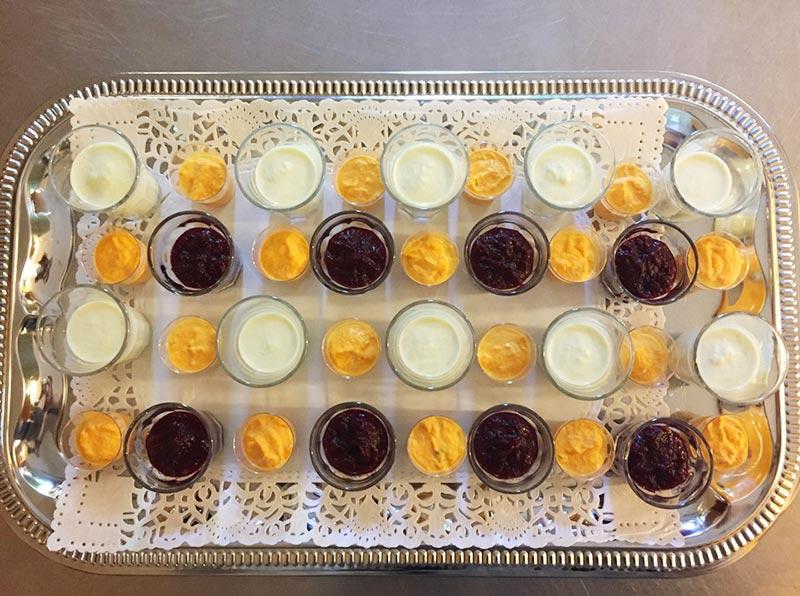 Repas et réception au Château de la Linotte en Bourgogne-Franche-Comté Apéritif